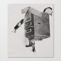 NTEWROKKYE Canvas Print