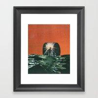 Black Waters Framed Art Print