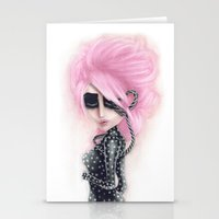 Pinkanhy Polka Stationery Cards