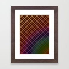 Geometric Abstraction. Framed Art Print
