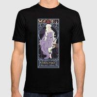 Amalthea Nouveau - The Last Unicorn Mens Fitted Tee Black SMALL
