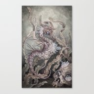 Canvas Print featuring When The Seas Rise by Caitlin Hackett