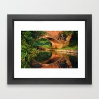 Sunlight Bridge Framed Art Print