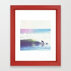 Vintage Tide Framed Art Print