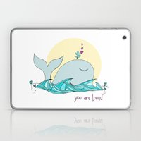 You Are Loved From The D… Laptop & iPad Skin