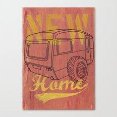 Nice new Home Canvas Print