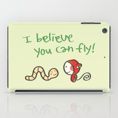 I Believe You Can Fly iPad Case