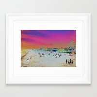 Old Orchard Beach, Maine… Framed Art Print