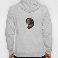 Fossilized Nautilus Shell Hoody