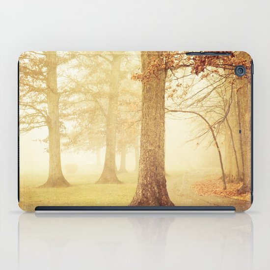 I Heard Whispering in the Woods iPad Case