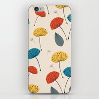 Dandelions in the wind iPhone & iPod Skin