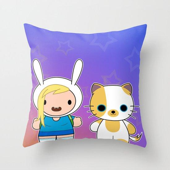 Hello Fionna Throw Pillow