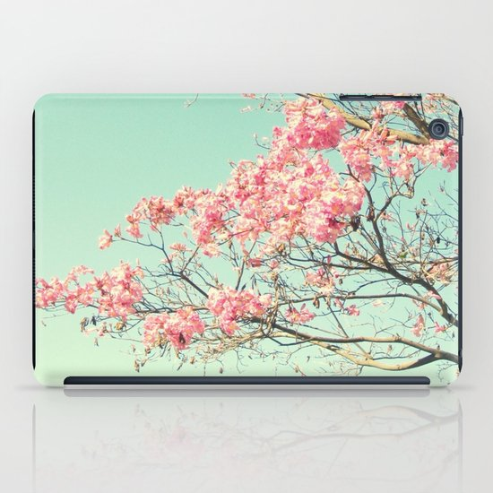 Spring Kissing the Sky iPad Case
