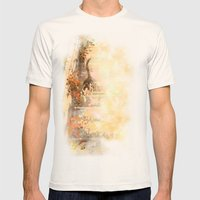 Cat's Stroll Mens Fitted Tee Natural SMALL