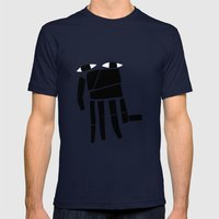 Elephand Mens Fitted Tee Navy SMALL