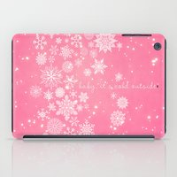 Baby It's Cold Outside iPad Case