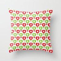 Love Apple Kaur Throw Pillow