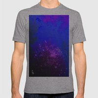 Mysterious World Below the Surface Mens Fitted Tee Athletic Grey SMALL