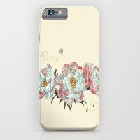vintage peonies iPhone 6 Slim Case