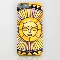 iPhone & iPod Case featuring The Sun was incapable of making plans by penina
