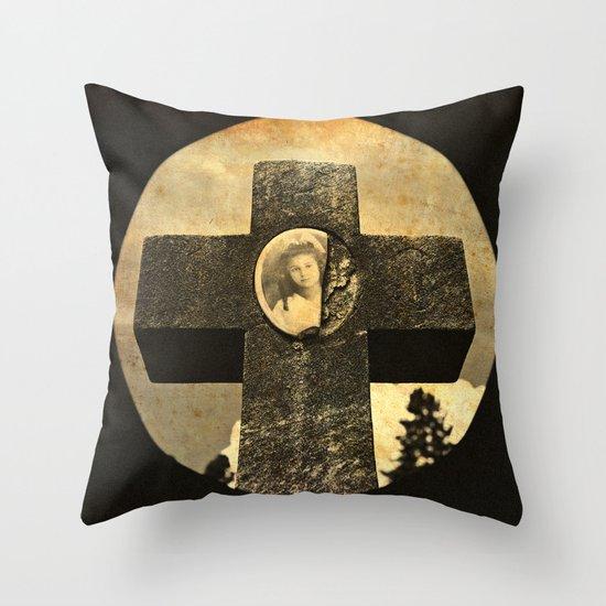 Jennie's cross Throw Pillow