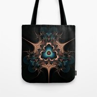 Layered Hearts And Thorn… Tote Bag