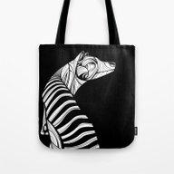 Thylacine (Tasmanian Tig… Tote Bag