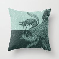 'Tell Me It's Real' Throw Pillow