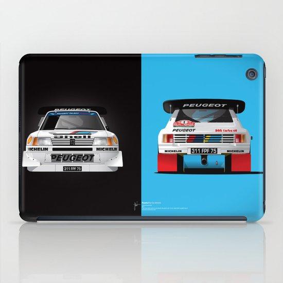 Group B Edition, N.º1, Peugeot 205 T16 E2 iPad Case