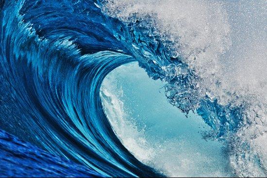 Indonesian Wavescape Art Print