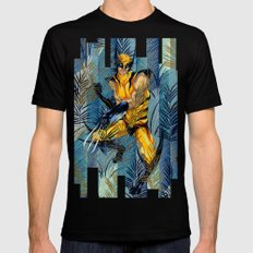 Wolverine Japan Forest Black SMALL Mens Fitted Tee