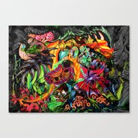 Just Another Day In The … Canvas Print