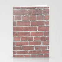 Soft Rock Brick Front Stationery Cards