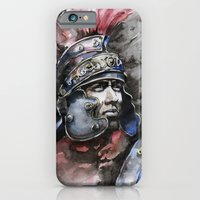 iPhone & iPod Case featuring Gladiator by Glashka