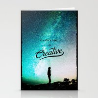 Everyone Is Creative - F… Stationery Cards