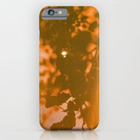 iPhone & iPod Case featuring orange haze and white sunlight by Sarah Zanon
