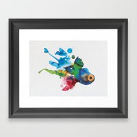 COLORFUL FISH 2 Framed Art Print