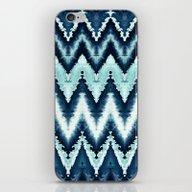 Blue Watercolor Pattern  iPhone & iPod Skin