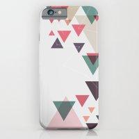 Triângulos ligados iPhone 6 Slim Case