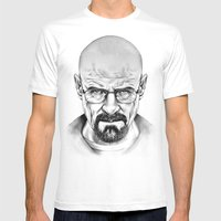 Walter White Mens Fitted Tee White SMALL
