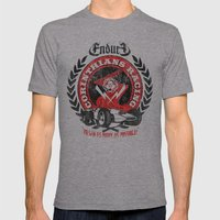 Corinthian's Racing Mens Fitted Tee Athletic Grey SMALL