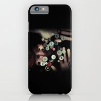iPhone & iPod Case featuring TRAPPED BUTTONS by Annamaria Kowalsky