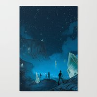 The Ethereal Underground Canvas Print