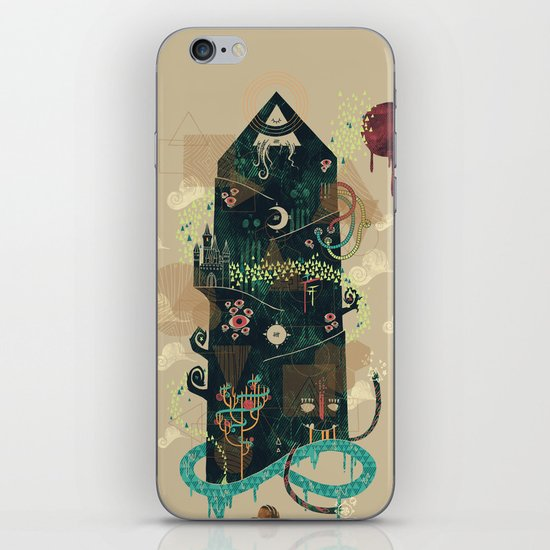 The Ominous and Ghastly Mont Noir iPhone & iPod Skin
