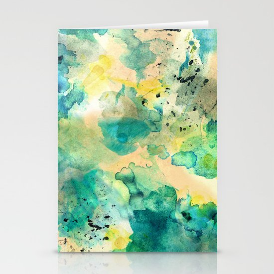 Diving Stationery Card
