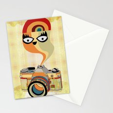camera spirit Stationery Cards