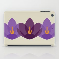 Crocus Flower iPad Case