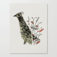 Gamebird Canvas Print