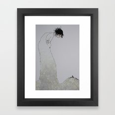 'Watch Over' (Pen and Ink) Framed Art Print