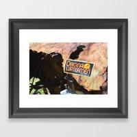 Original Waterman - Earn your Salt Framed Art Print
